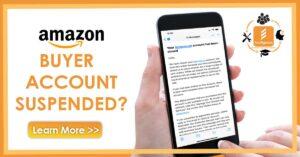 Amazon Buyer Account Supsension